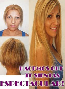 Como ponerse extensiones en pelo corto